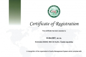Re-certification of ISO 9001:2015